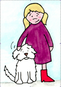 Bailey and Stella help show children there are many ways to express their feelings.